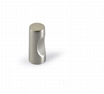 Knop Almus - Edelstaal finish geborsteld - Diameter 12 mm<br />Per stuk