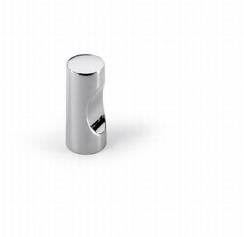 Knop Almus - Glanzend verchroomd - Diameter 12 mm<br />Per stuk