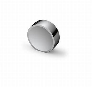 Knop Novoli - Glanzend verchroomd - Diameter 28 mm<br />Per stuk