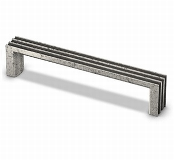 Greep Cato - Tinkleurig antiek -  Lengte 138 mm<br />Per stuk