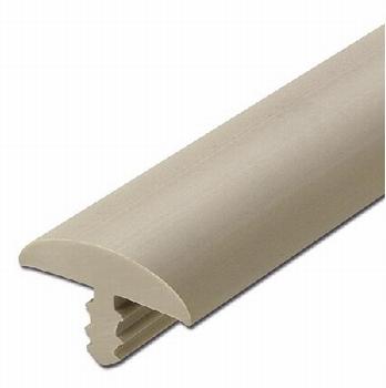 Afwerkband halfrond steengrijs 20x4mm