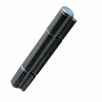 Aanlasscharnier Blank staal verhoogd - 121x15mm - 3 delig