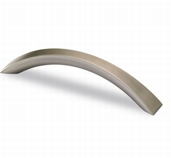 Greep Egara - tinkleurig geborsteld - Lengte 155 mm<br />Per stuk