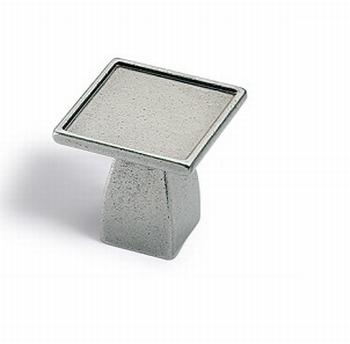 Knop Dipo - Tinkleurig - Breedte 30 mm<br />Per stuk