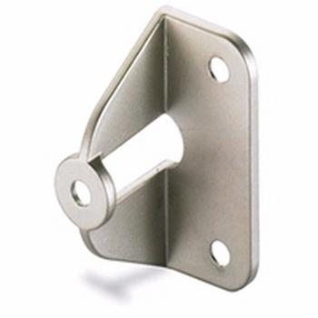 Greepadapter - Mat Nikkel voor deurdikte 16/18mm<br />Per stuk