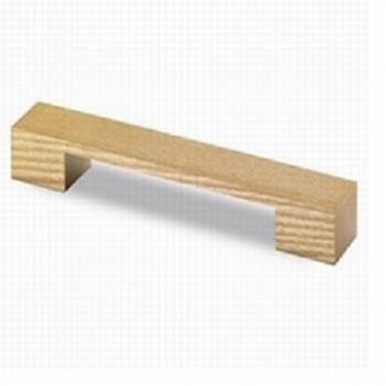 Greep eikenhout 185/160mm boormaat - 12x33mm hoog<br />Per stuk