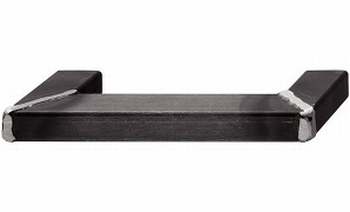 Greep staal zwart gelakt - op verstek gelast - 350mm/320mm<br />Per stuk