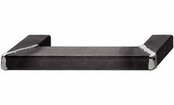Greep staal zwart gelakt - op verstek gelast - 190mm/160mm