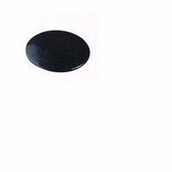 Afdekkap zwart - kunststof<br />per stuk