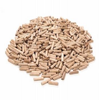 Beuken deuvels geribbeld 10x60mm<br />per 1 kilo