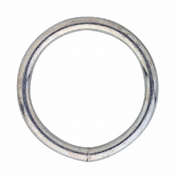Gelaste ring 20x3mm / verzinkt<br />per stuk