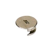 Rastex 25mm - vernikkeld - met rand<br />per stuk