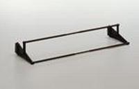 Schoenenrek verstelbaar - zwart - 56-100cm<br />per stuk