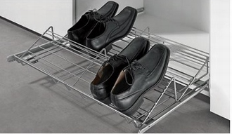 Verstelbare schoenenrek 315 op kogelgeleiders/softclosing<br />per stuk