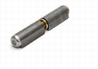Aanlaspaumelle Blank staal - 120x16mm<br />Per stuk