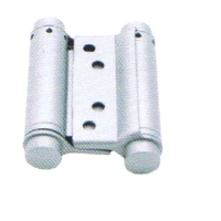 Bommerscharnier 36x150mm - staal zilvergrijs gelakt