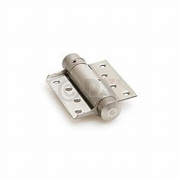 Bommerscharnier enkel 29x75mm - staal zilvergrijs gelakt