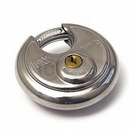 Discusslot gelijksluitend, Ø 70 mm - sleutelnummer 718<br />Doos 12 stuks
