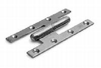 Franse paumellescharnier 140x70mm - staal verzinkt - DR 1/3<br />per stuk