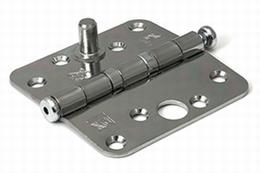Kogellagerscharnier 76x76mm - staal verzinkt - SKG**<br />per stuk