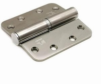 Kogelstiftpaumelle 89x89mm - RVS - DR 1/3<br />per stuk