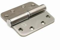 Kogelstiftpaumelle 89x89mm - RVS - DR 2/4<br />per stuk