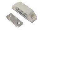 Magneetsnapper wit met tegenplaat - 4kg<br />per stuk