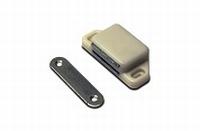 Magneetsnapper wit met tegenplaat - 8kg<br />per stuk