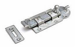 Rolschuif - met bocht - 100x44mm - staal - verzinkt<br />Per stuk
