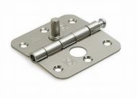 Scharnier 76x76mm met losse pen - staalverzinkt - SKG**<br />per stuk