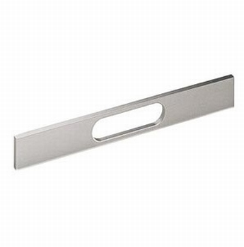 Greep Apua - edelstaal finish geborsteld - L 172mm<br />Per stuk
