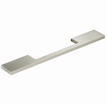 Greep Velitra - allu. edelstaal finish geborsteld - L 372mm<br />Per stuk