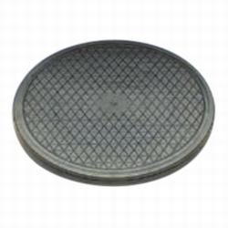 Draaiplateau kunststof zwart diameter 25cm<br />Per stuk