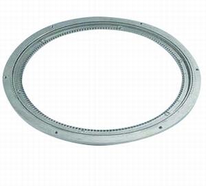 Draaischijf van metaal (zamak) diameter 450mm<br />Per stuk