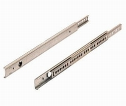 Kogelgeleider 27x10mm - lengte 310mm<br />Per paar
