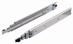 Kogelgeleider lengte 400mm - uittrekbaar tot 595mm - 90kg<br />Per paar