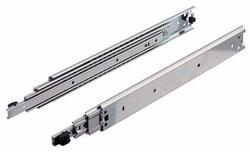 Kogelgeleider lengte 600mm - uittrekbaar tot 900mm - 100kg<br />Per paar