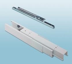Onder en bovengeleider tbv apothekerskast - lengte 61cm<br />per set