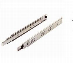 RVS kogelgeleider  - lengte 25cm - belastbaar tot 50 kg<br />Per paar