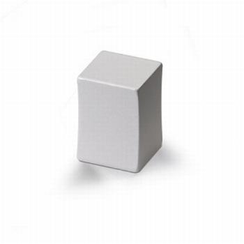 Knop Pesaro -  Aluminium - Hoogte 20 mm<br />Per stuk