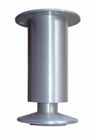 Aluminium meubelpoot 40mm - hoogte 140mm