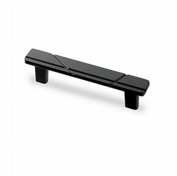 Greep Celista - mat zwart - Lengte 160 mm<br />Per stuk