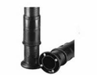 Hoogteversteller voor buis 55x2mm - 120mm verstelbaar<br />per stuk