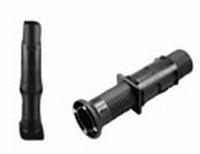 Hoogteversteller voor koker 40x40x2mm - 100mm verstelbaar<br />per stuk