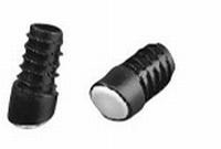 Insteekdop teflon glijvlak - buisdiameter 18mm - schuin 18gr<br />per stuk