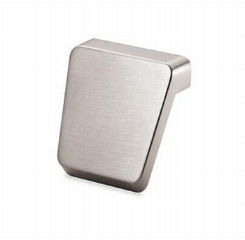 Knop Milo-  edelstaal finish geborsteld - breedte 40 mm<br />Per stuk