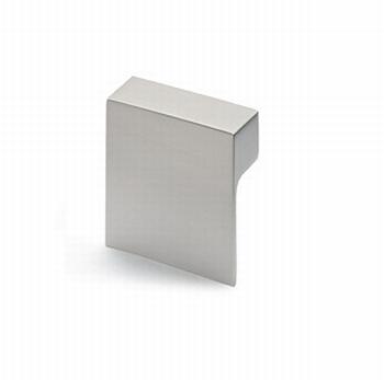 Knop Venusia - edelstaal finish geborsteld - breedte 60 mm<br />Per stuk