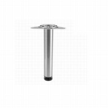 Kindertafelpoot hoogte 35cm - verstelbaar tot 55cm - RVS<br />per stuk