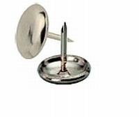 Metalen meubelglijder 35x4mm<br />per stuk