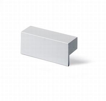 Greep Trani - aluminium - Lengte 52 mm<br />Per stuk